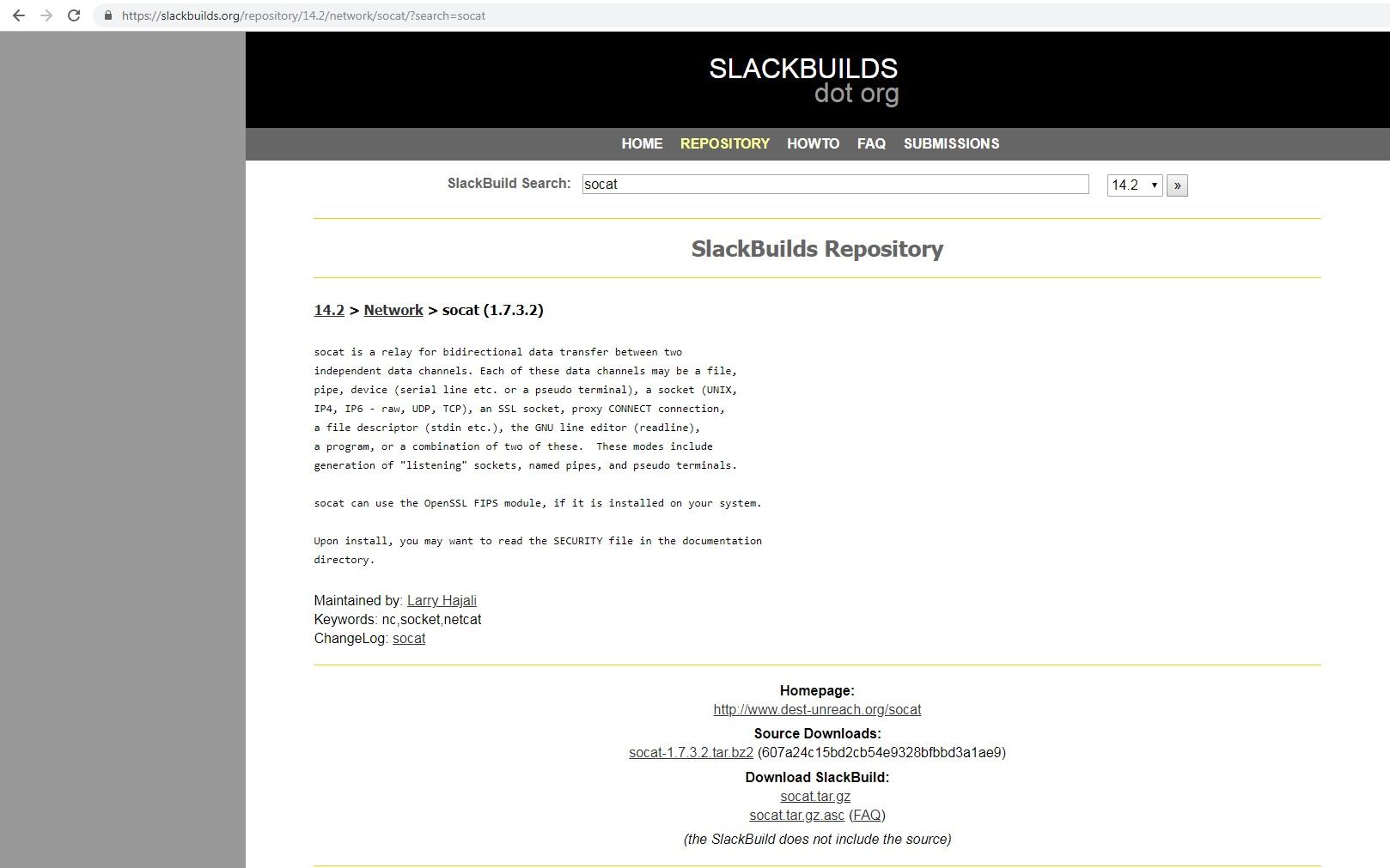 Scripturi SlackBuild